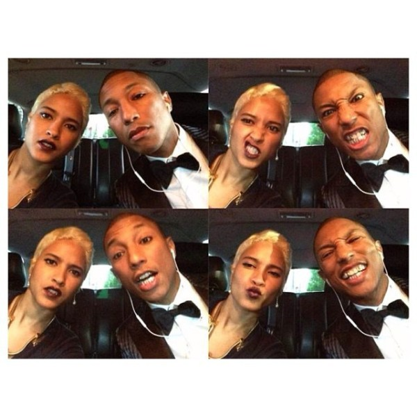 best selfies of 2013 - pharrell wiliams