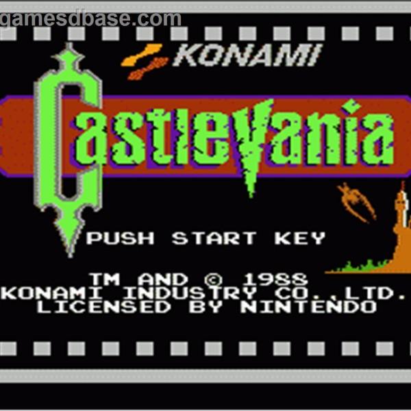 Castlevania 1987 Konami