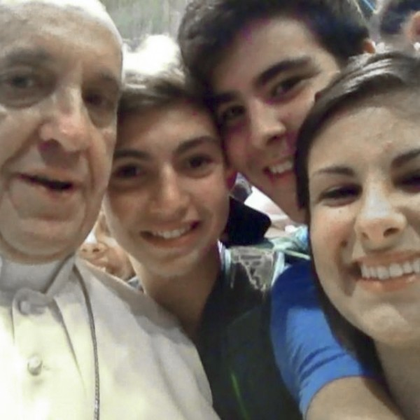 best selfies of 2013 - pope