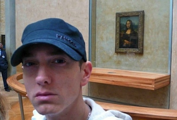 best selfies of 2013 - EMINEM