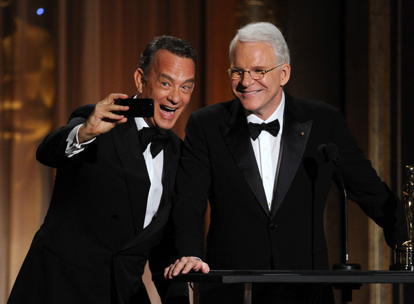 best selfies of 2013 - tom hanks and steve martin