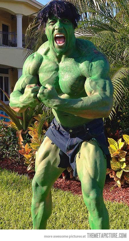 funny-The-Rock-Hulk-costume-green