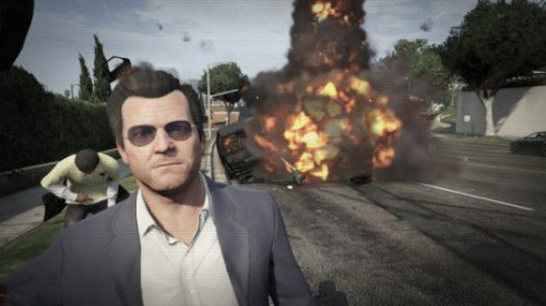 best selfies of 2013 - GTA V