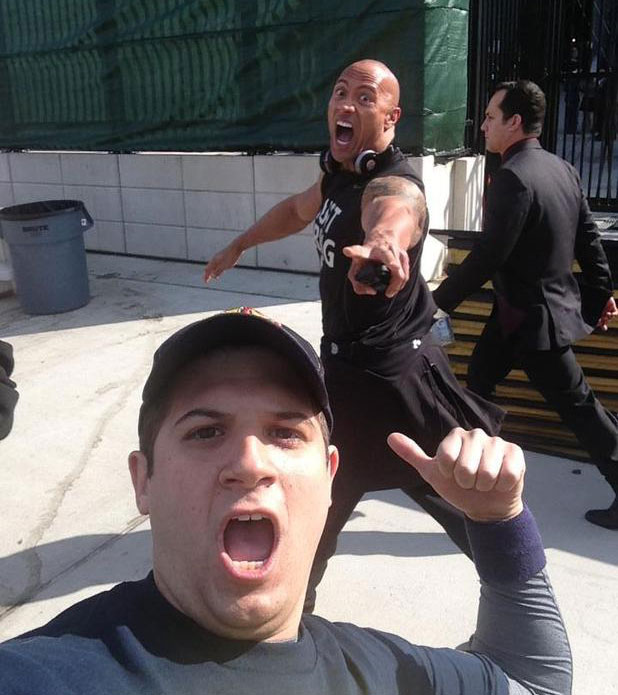 the_rock_photobombing
