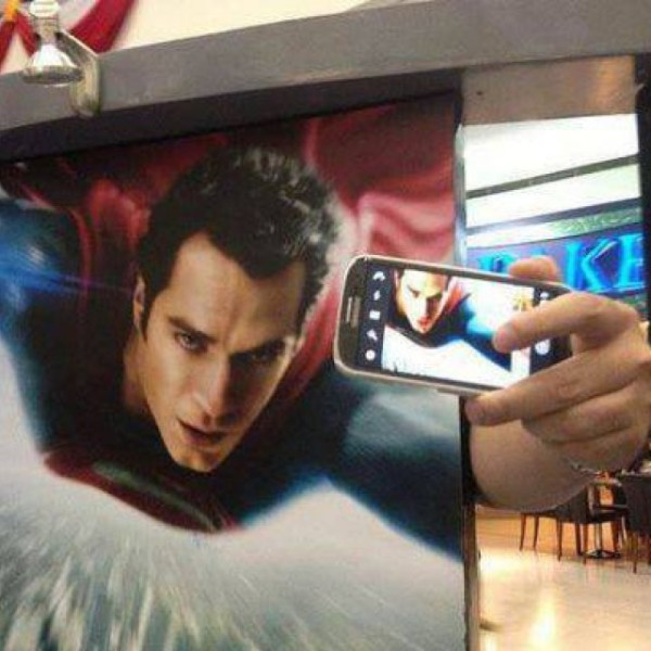 best selfies of 2013 - man of steel
