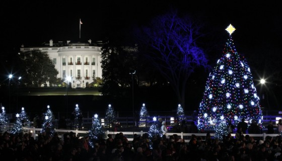 christmas celebration white house