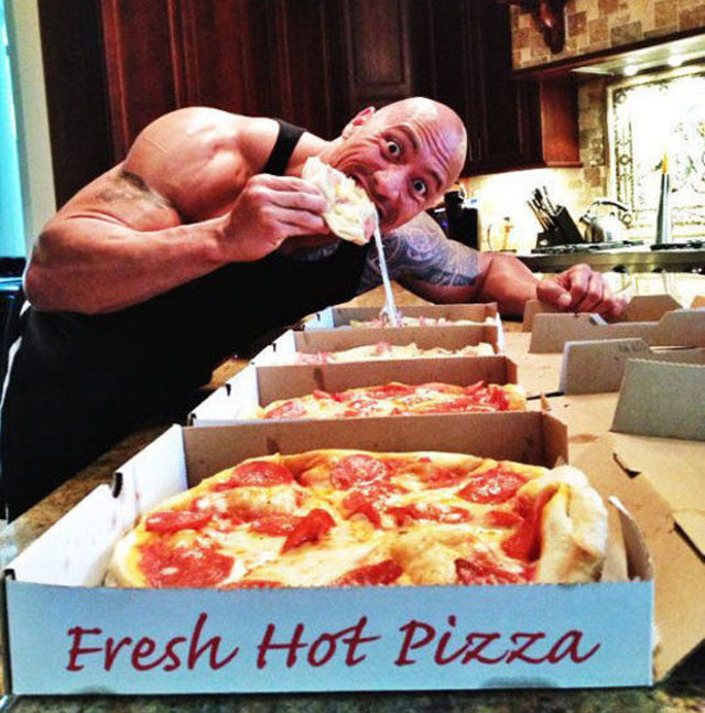 the rock pizza