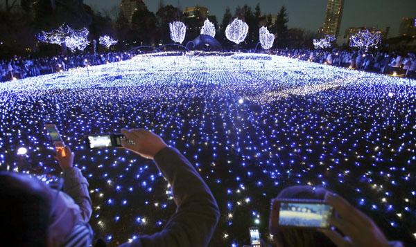christmas celebration japan
