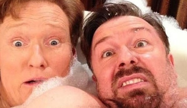 best selfies of 2013 - conan o'brien