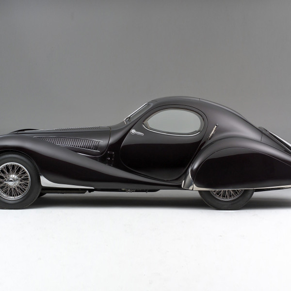 1938 Talbot-Lago T23 Teardrop Coupé - cars of the 30's