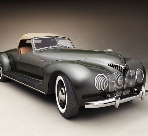 1939 ZIS-101 Sport coupe - cars of the 30's.