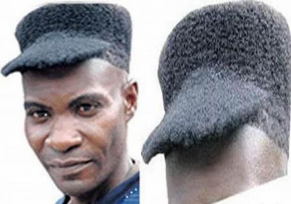 weird haircuts
