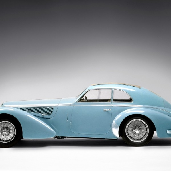 Alfa Romeo 8C 2900B Lungo Touring Berlinetta '1937–38 - cars of the 30's.