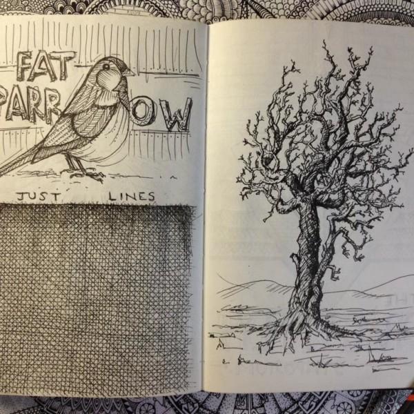 sketchbook art