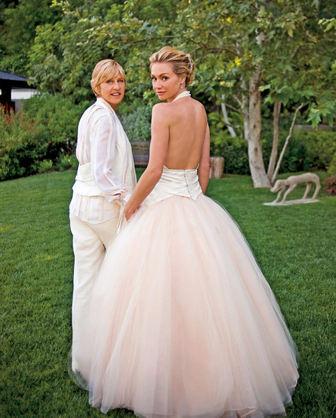 Portia De Rossi Wedding Gown: 20 Famous Wedding Dresses That Will Make You Jealious