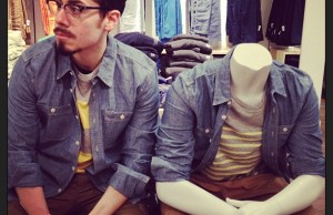 the gap mannequin project