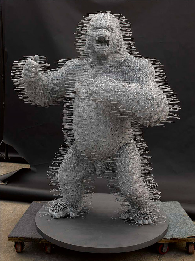 Brilliant Sculptures From Unique Objects By David Mach