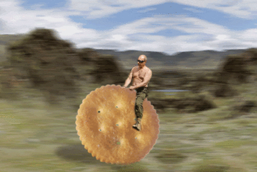 Putin on a cracker meme