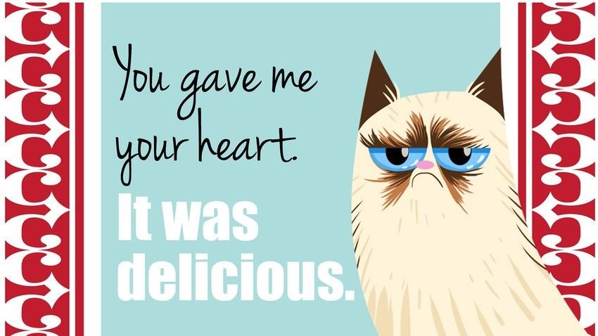 Schön Grumpy Cat Valentine