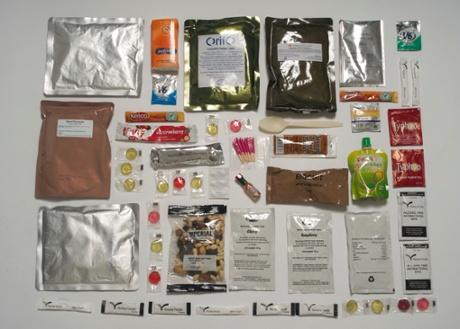 army food packs