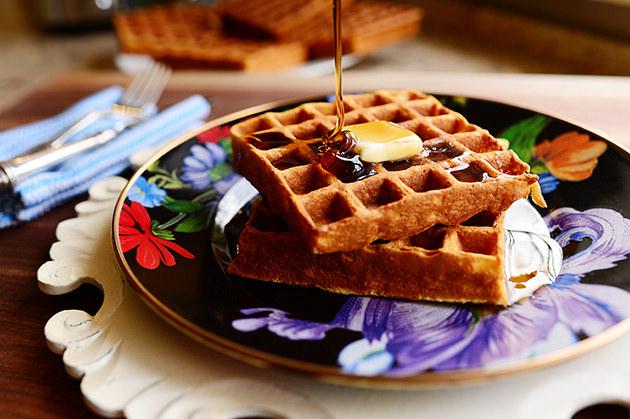 Crazy waffle recipe