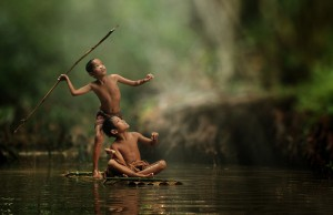 Everyday Life of Indonesian Villagers.