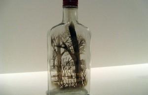 The Bottled Smoke Artworks of Jim Dingilian