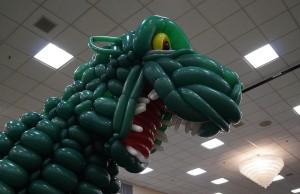 2500 Balloon Godzilla