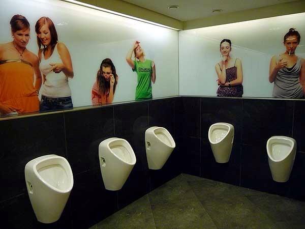Unique Urinals