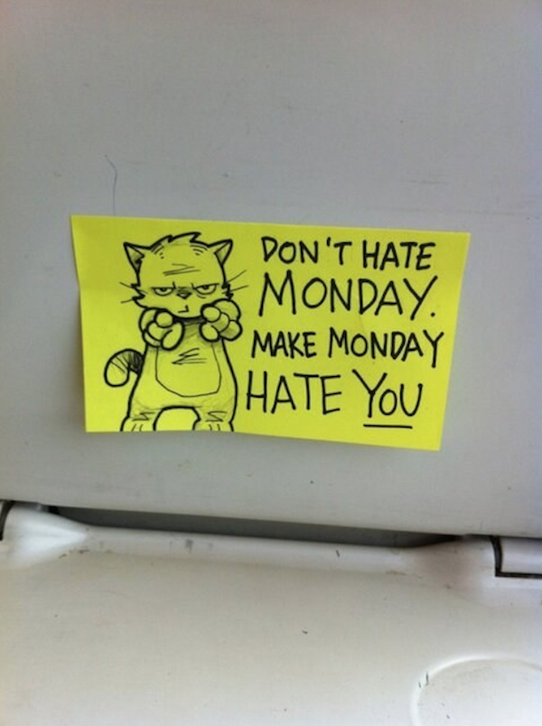Clever Post-It Notes.