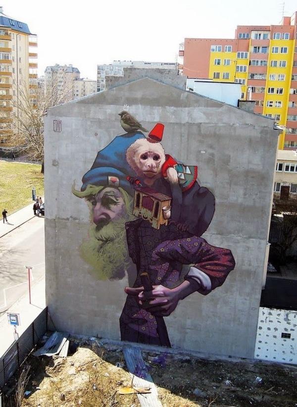 Boring Buildings Turned Into Beautiful Street Art