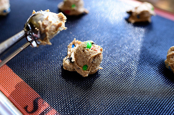 Browned Butter M&M Cookies