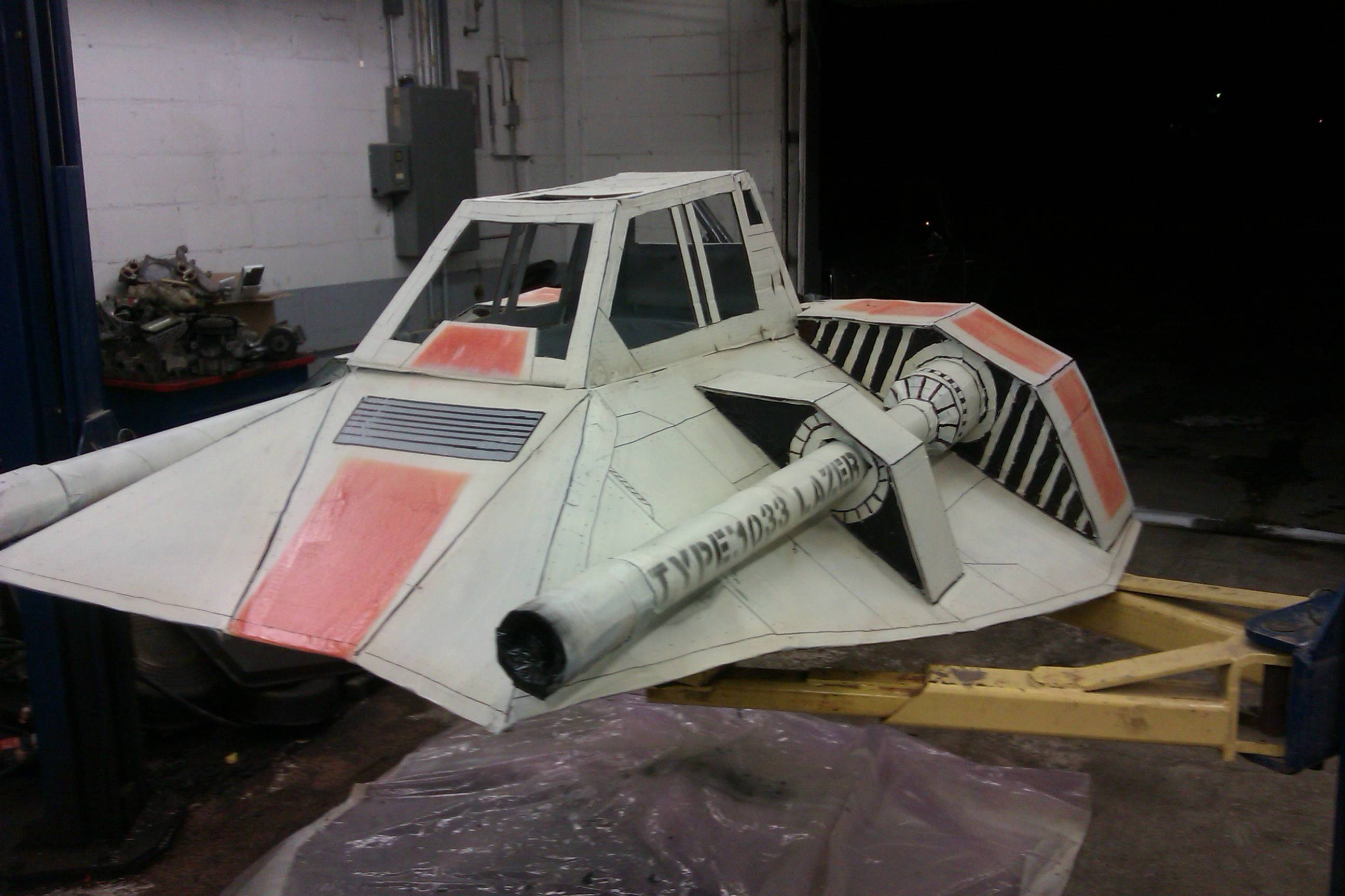 super secret spaceship