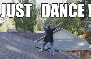 hilarious roofer