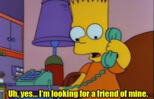 simpsons prank call