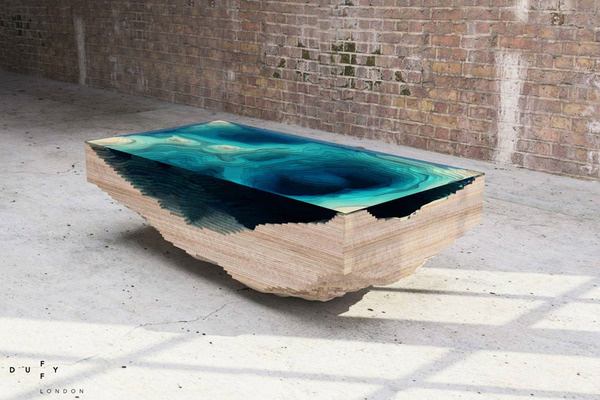 amazing table designs - deep ocean