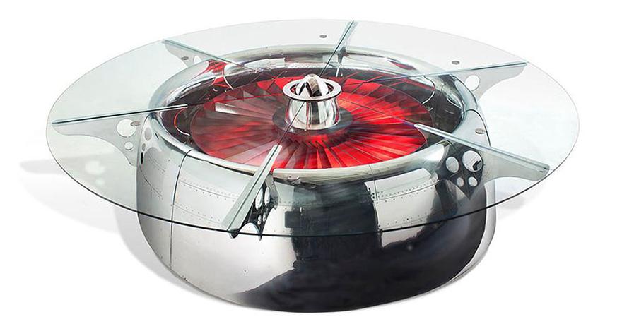 amazing table designs - jet engine 2