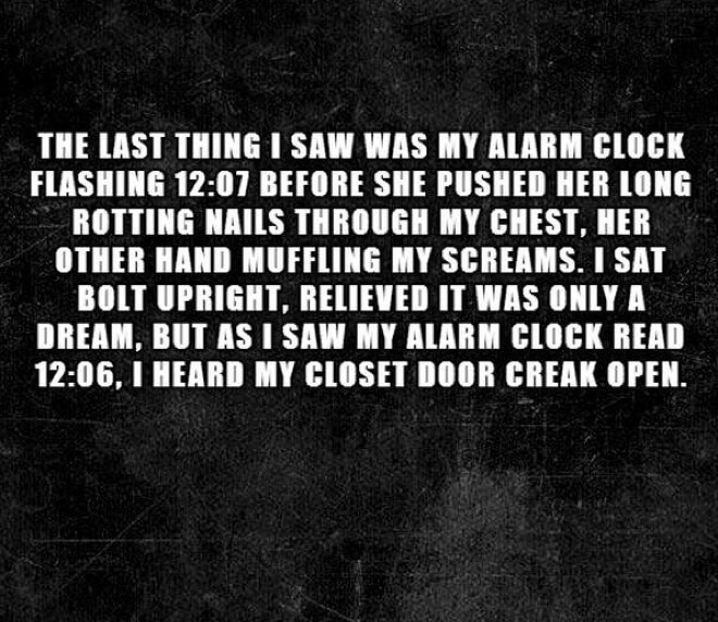 26 Super Scary Short Horror Stories That Will Freak You Out