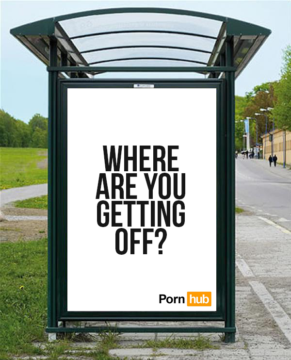 cool pornhub ads