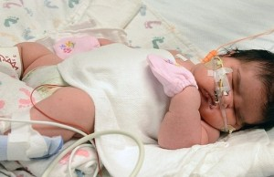 baby weighing 14 lbs