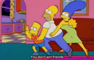 simpsons life advice