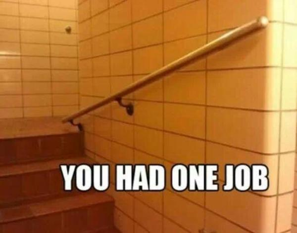 one job fail