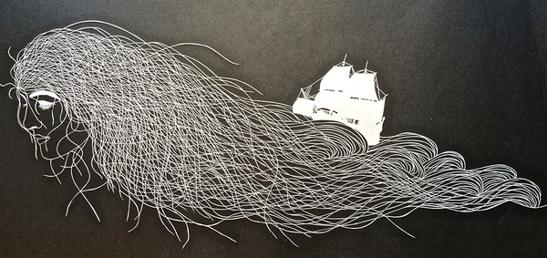 amazing cut paper illustrations