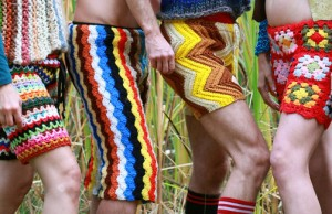 Crochet's shorts for men