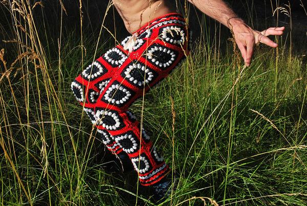 Crochet's shorts for men