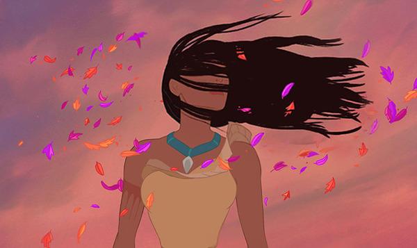 disney princesses hair