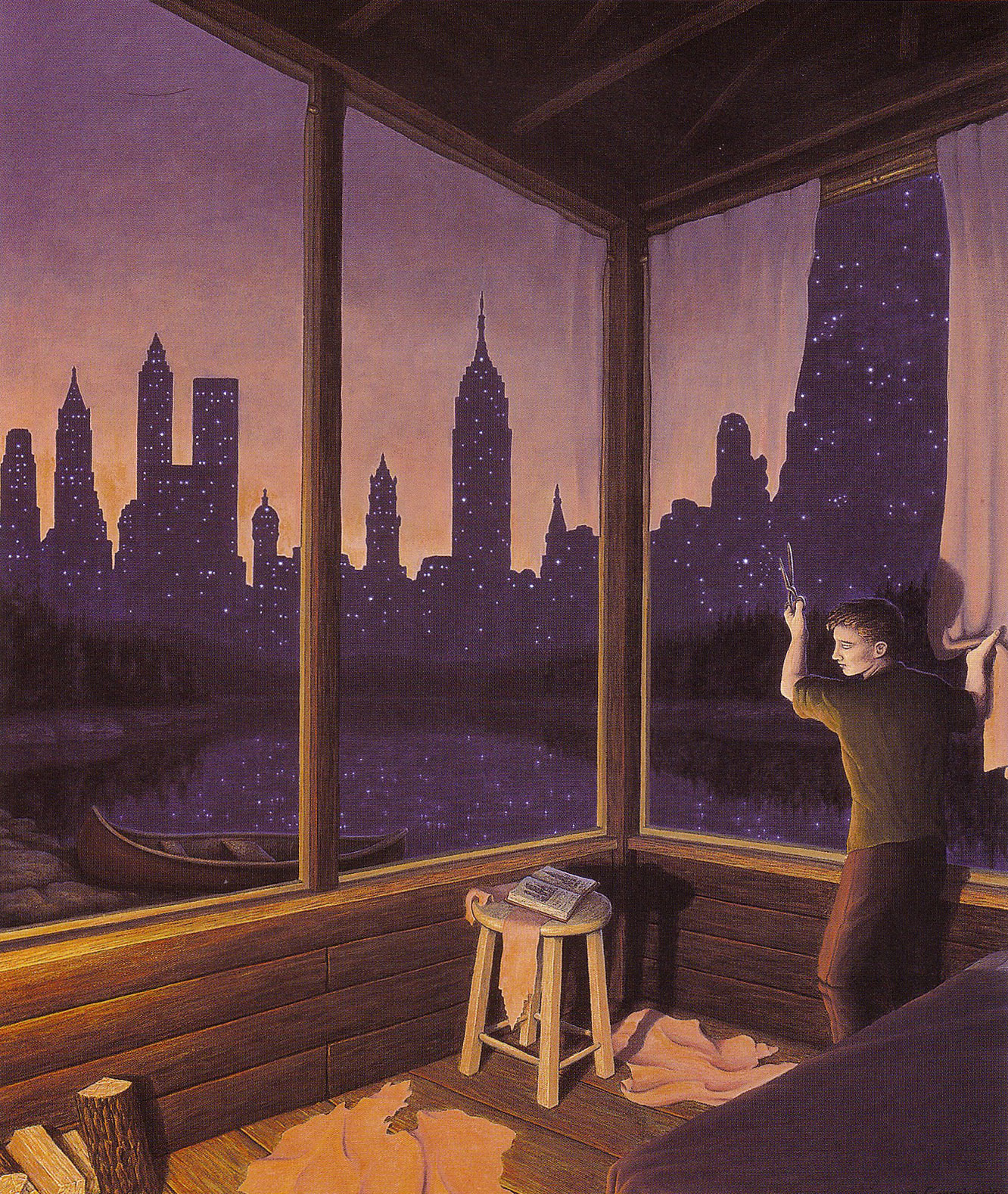 paintings of Rob Gonsalves