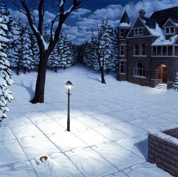 incredible paintings of Rob Gonsalves