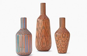 amazing pencil vases by Tuomas Markunpoika