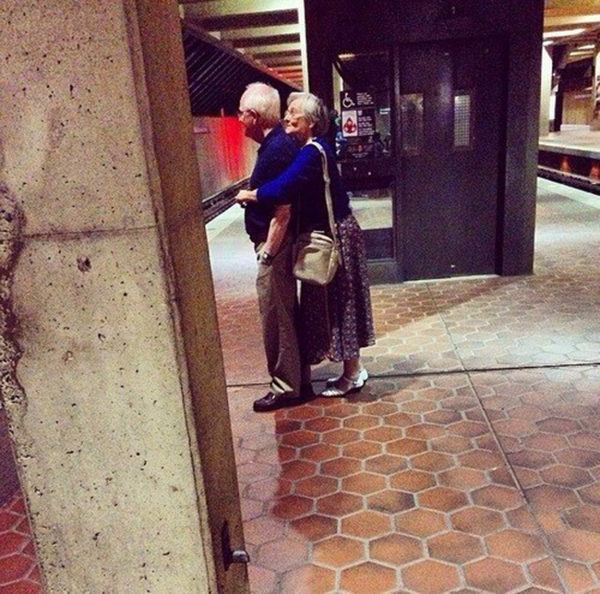 sweet old couples